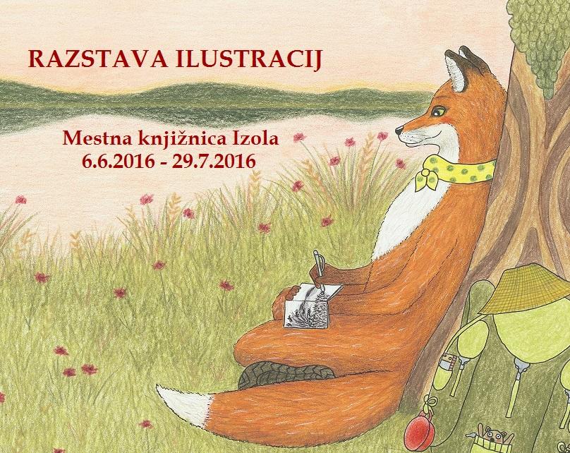 lisica-pise-letak