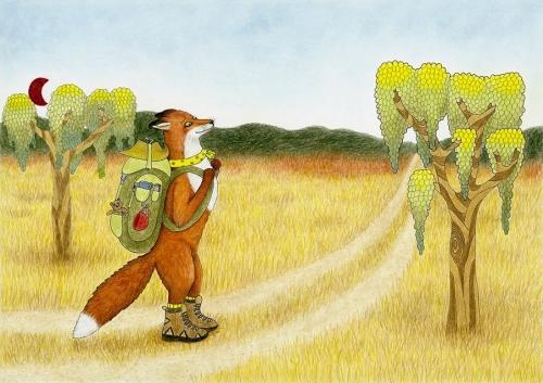 Lisica gre na potovanje